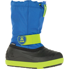 Kamik Jet Winter Boots Kids blue/lime